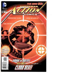 4 Action Comics DC Comic Books # 10 23.2 32 33 Superman General Zod Batman WM7