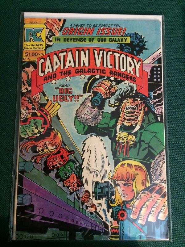 Captain Victory and the Galactic Rangers #11 Jack Kirby