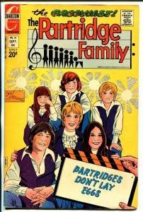 Partridge Family #12 1972-Charlton-David Cassidy-Shirley Jones-Susan Dey-VG/FN