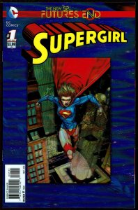 Futures End Supergirl 3-D Cover (2014, DC) 9.6 NM+