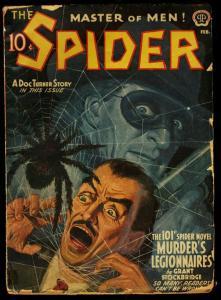 SPIDER-FEB 1942-101ST ISSUE!-DOC TURNER STORY G/VG