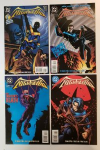 Nightwing #1-4 Complete Set 1st Solo Series debut! DC Comics 1995 VF/NM