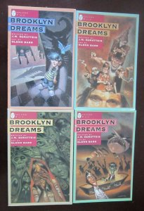 Brooklyn Dreams comic set from #1 to #4 all 4 different books 8.0 VF (1994)
