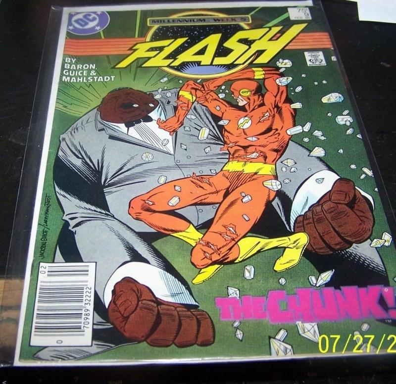 Flash comic # 9 DC wally west  HOT  TV Show cw THE CHUNK