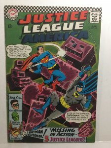 Justice League Of America 52 Vg/Fn Very Good/Fine 5.0 DC Comics
