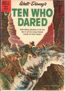 TEN WHO DARED (1960 DELL MOVIE) F.C.1178 VG-F DISNEY MO COMICS BOOK