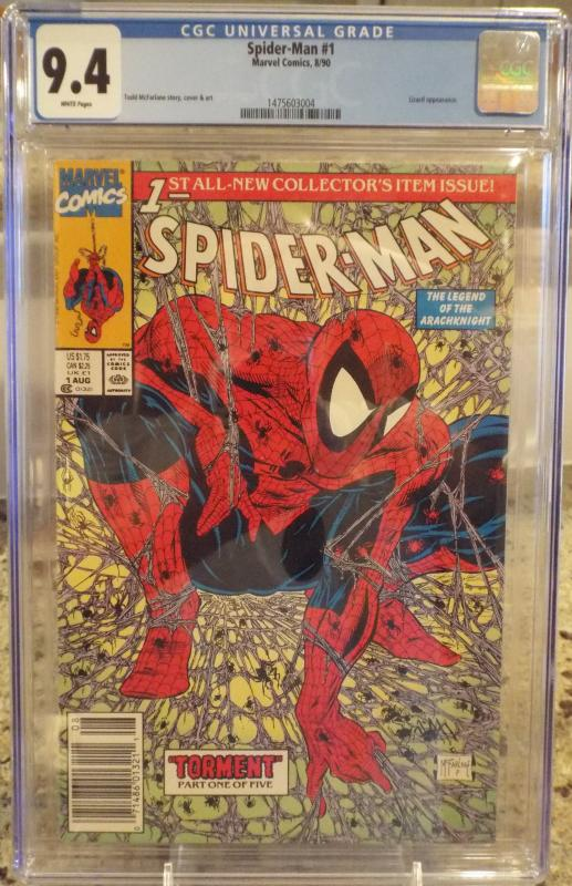 Amazing Spider-Man #1 CGC 9.4,