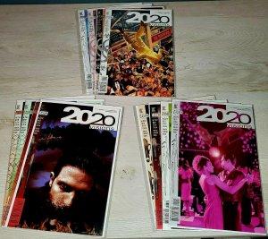 2020 Visions - DC Vertigo 1997 - Complete Set 1-12