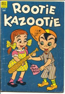 Rootie Kazootie-Four Color Comics-#502 1953-Dell-TV series-G+