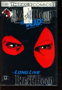 The Black Hood #2 (1992)  ***Label on bag not on Comic***