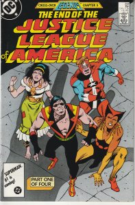 Justice League of America(vol.1) # 258  The End....?
