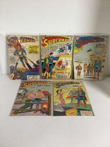 Superman 161 162 163 164 165 166 167 168 169 170 Gd+-Vg+Good+-Very Good+ 2.5-4.5