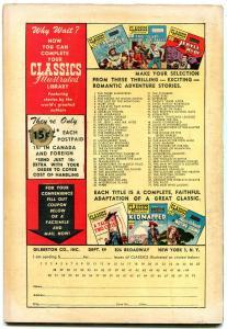 Classics Illustrated  #33-HRN 71-ADVENTURES OF SHERLOCK HOLMES-Doyle FN