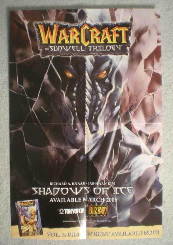 WARCRAFT SUNWELL TRILOGY Promo Poster, 2005, Unused, more in our store