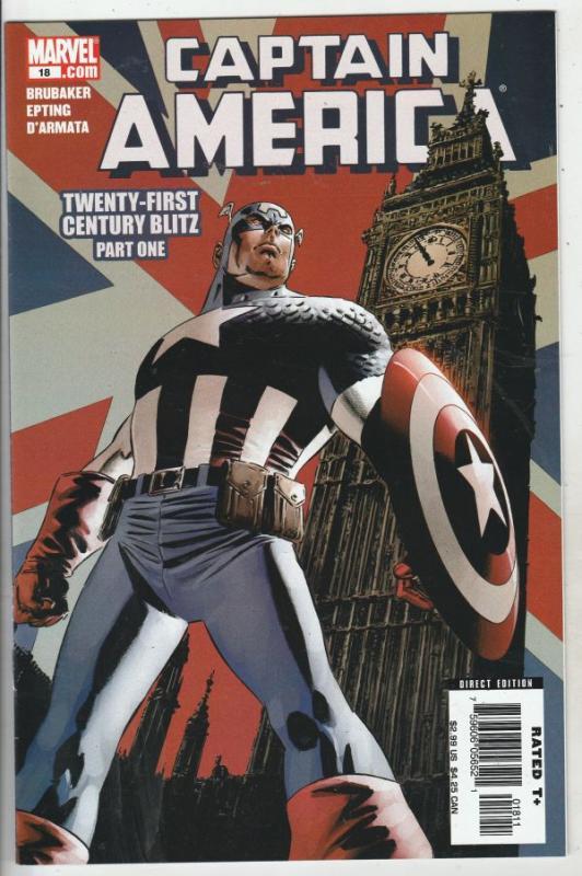 Captain America #18 (Jun-06) NM/MT Super-High-Grade Captain America