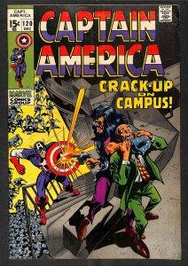 Captain America #120 VG+ 4.5 Marvel Comics