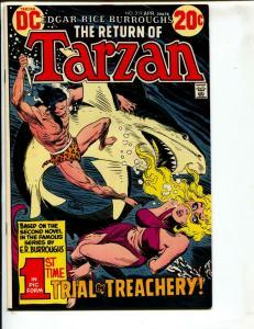 Tarzan-#219-1973-DC-BRONZE-AGE-Joe Kubert-NM-