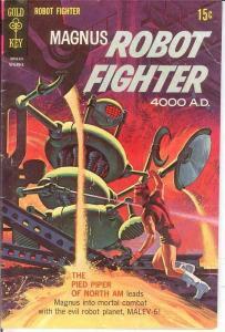 MAGNUS 24 VG-F   Nov. 1968 COMICS BOOK
