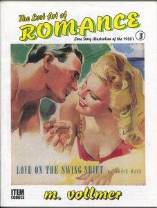 Lost Art of Romance #3 1999-reprints romance pulps art-limited print