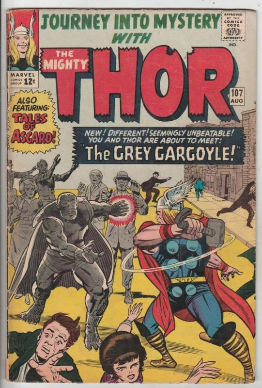 Journey into Mystery #107 (Aug-64) VG/FN Mid-Grade Thor