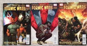 FORMIC WARS : BURNING EARTH - Three (3) Issue Lot - #1, #2, and #4