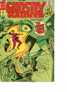 Ghostly Haunts 25 VG  Ditko Art and Cover 1972