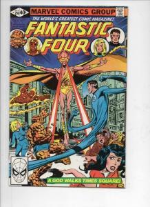 FANTASTIC FOUR #216, VF-, God, Byrne, 1961 1980, Marvel, more FF in store