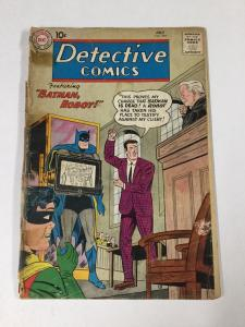 Detective Comics 281 2.0 Cover Detached Tape On Cover Dc Silver Age
