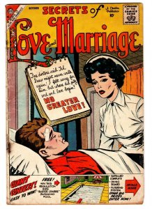 Secrets of Love & Marriage Vol. 2 #15-Charlton-Nurse-love triangle