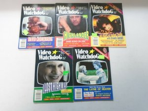 Video Watchdog lot 10 different later issues avg 6.0 FN (1996-2001)