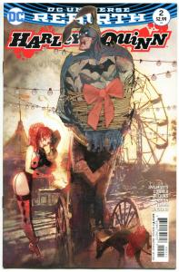 HARLEY QUINN #2, NM, Rebirth, Amanda Conner, Sienkiewicz, 2016, more HQ in store