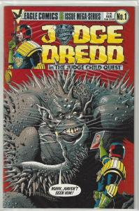 JUDGE DREDD Child Quest #1 2 3 4 5, NM, 1984, 1-5, I am the Law, Bolland, Wagner