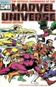 Official Handbook of the Marvel Universe (1985 series) #1, VF- (Stock photo)