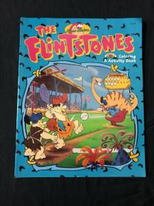 Flintstones Coloring and Activity Book Blue cover 1994
