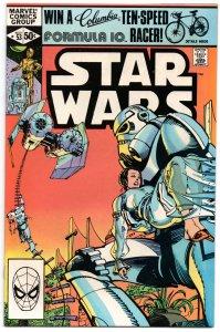 Star Wars #53 VF- (Note: unused John Carter of Mars story redrawn as Star Wars!)