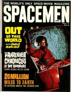SPACEMEN 8 FN  June 1964