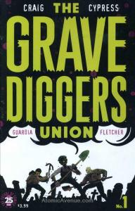 Gravediggers Union, The #1 VF/NM; Image   save on shipping - details inside
