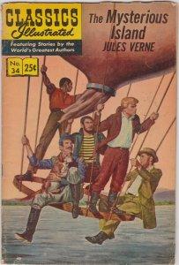 Classics Illustrated #34
