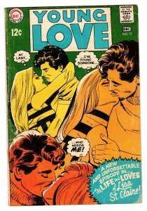 YOUNG LOVE #71 comic book 1968-DC ROMANCE-Alex Toth VG-