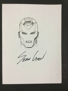 Sean Chen Iron Man Commission Original Art