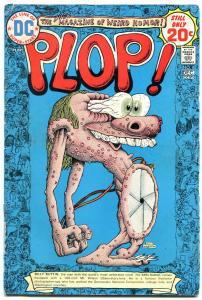 Plop! #8 1974- DC Weird Humor- Basil Wolverton- VG