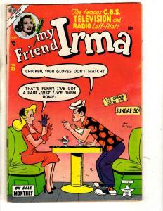 My Friend Irma # 33 FN Atlas (Marvel) Comic Book CBS TV Radio Teenage Humor JL2