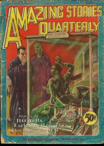 AMAZING STORIES QTLY1928 WINT-#1-EARLY SCIENCE FICTION G