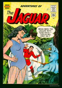 Adventures of the Jaguar #5 FN+ 6.5 White Pages