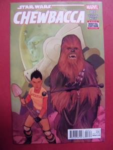 CHEWBACCA #003 REGULAR COVER NM 9.4 MARVEL 2015 SERIES