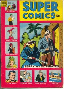 Super #120 1948-Dell-Brenda Starr-Little Orphan Annie-Terry and The Pirates-VG+