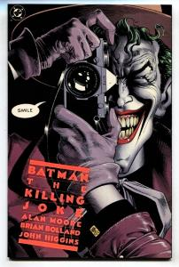 BATMAN: THE KILLING JOKE-1988-Sixth PRINT -HTF-NM ALAN MOORE.