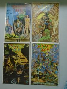 Aztec Ace run #1-4 8.5 VF+ (1984)