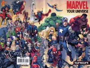 Marvel: Your Universe Saga #1 VF/NM; Marvel | save on shipping - details inside