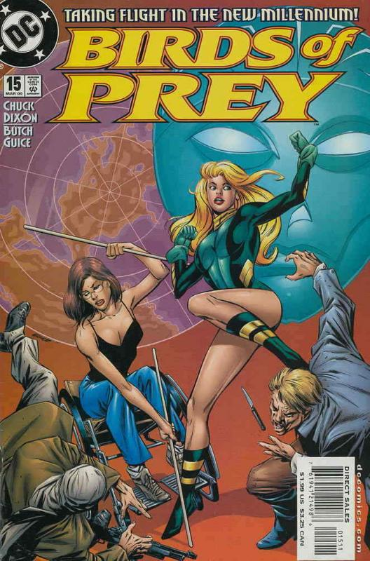 Birds of Prey #15 VF/NM; DC | save on shipping - details inside
